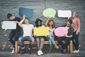 people-holding-conversation-bubbles